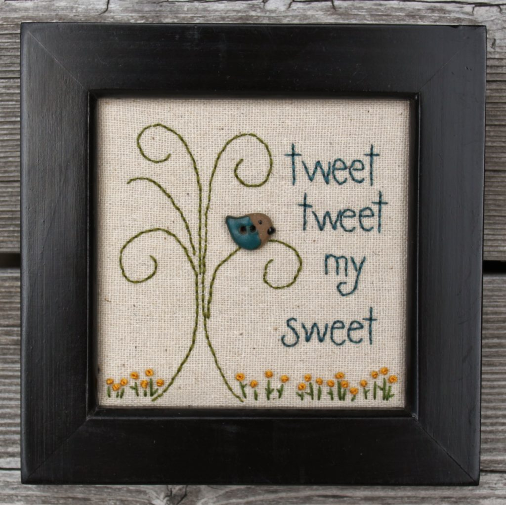 Tweet Tweet My Sweet